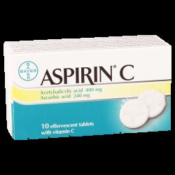 Аспирин C #10т шипучий BAYER