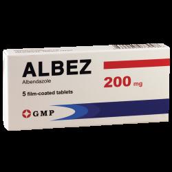 Albez 200mg #5t GMP