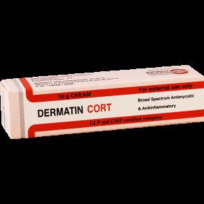 Дерматин корт 15г крем