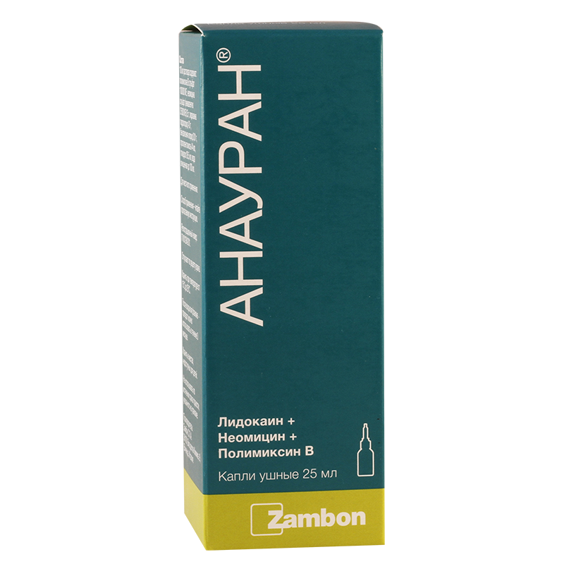 Anauran 25ml ear drops