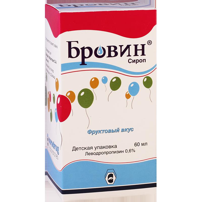 Brovin 0.6%  60ml syrup