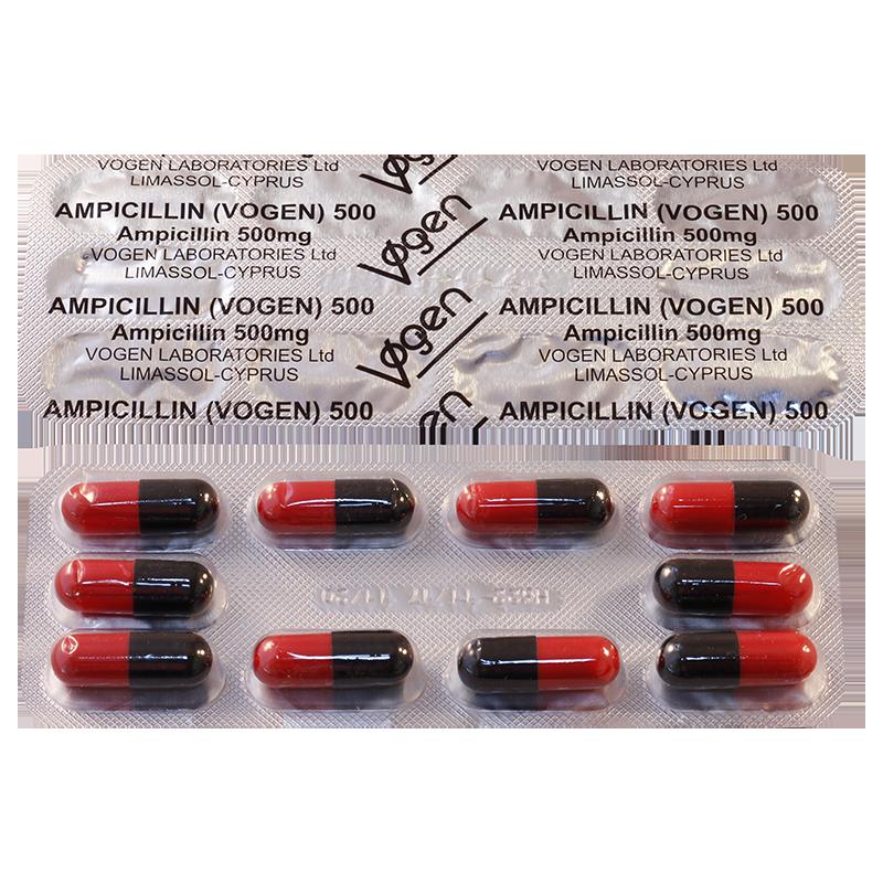 ამპიცილინი 0.5გ  #10კაფს (იმპ)