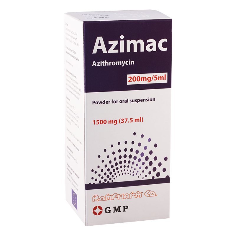 Azimac 200mg/5ml susp.