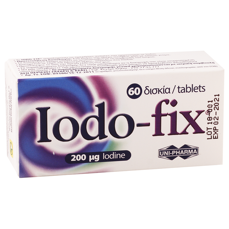 Iodo-fix 200mg #60t