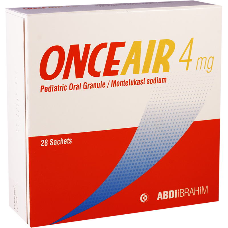 Onceair 4mg gran #28 pac