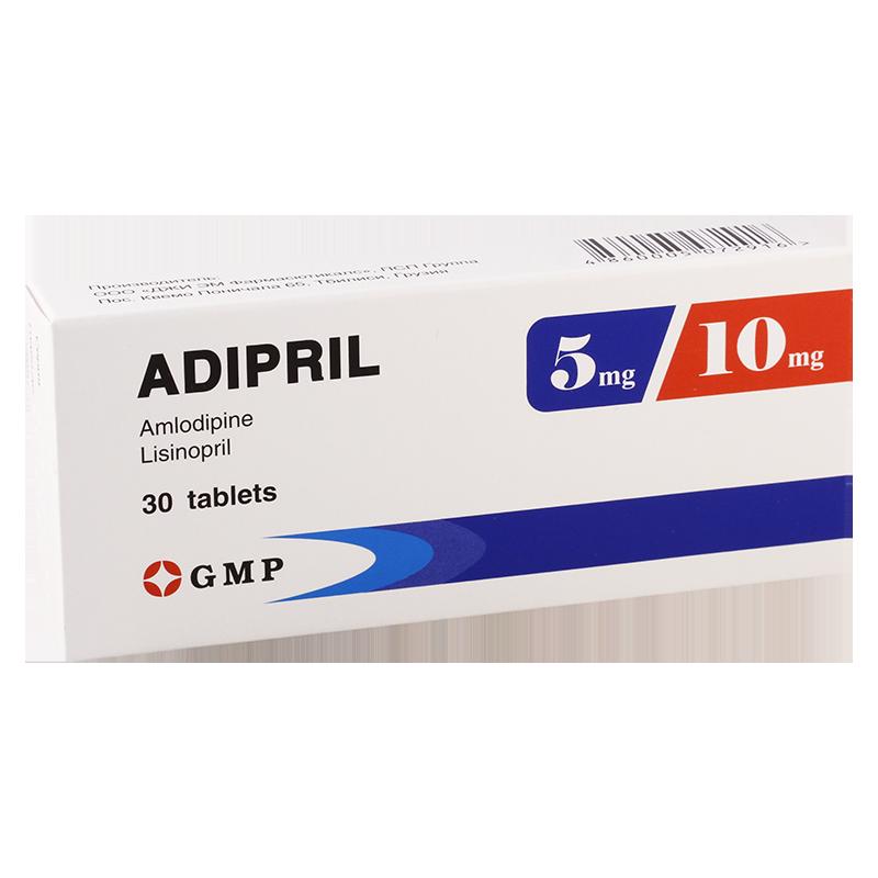 Adipril 10mg/5mg #30t GMP