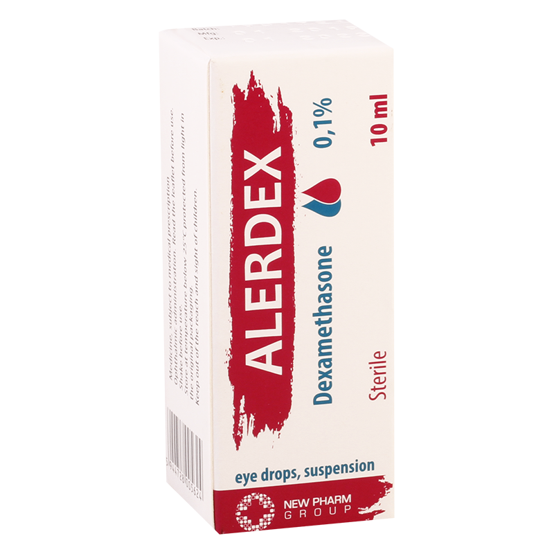 Alerdex  0.1% 10ml eye drops