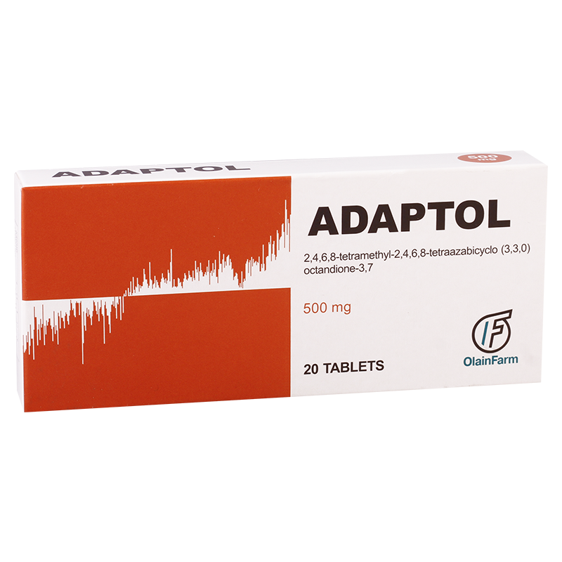 Adaptol 500mg #20t