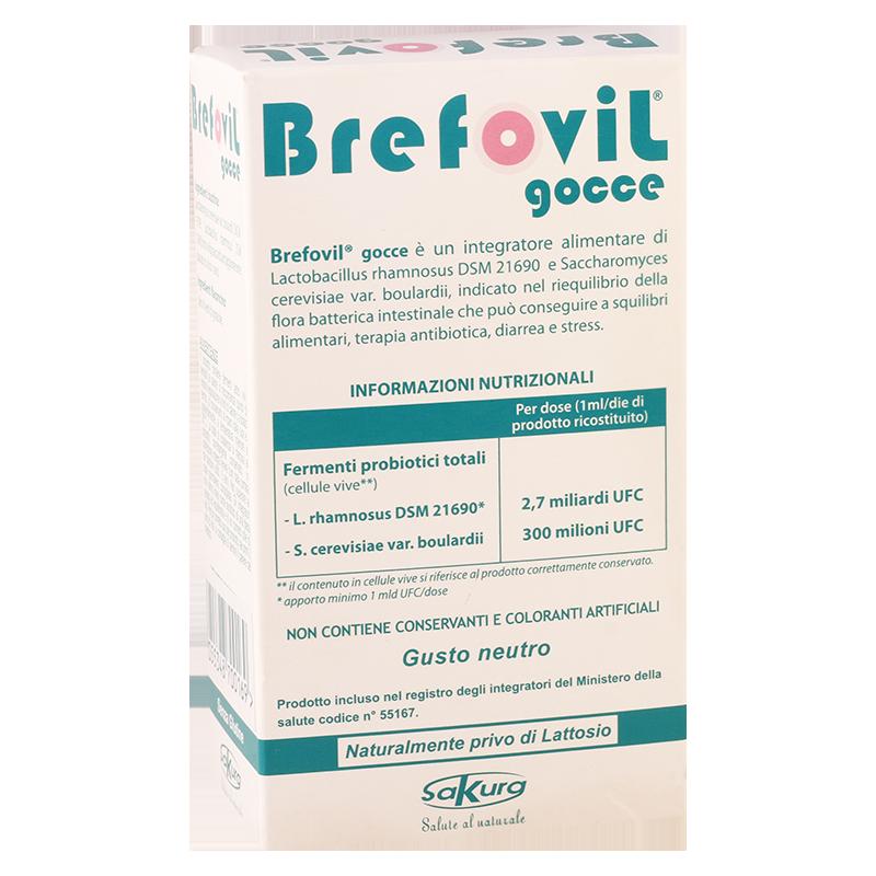 ბრეფოვილი 10მლ ფლ+1400მგ პაკ.