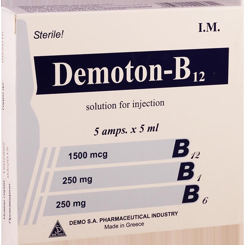 დემოტონი-B12 5მლ #5ა