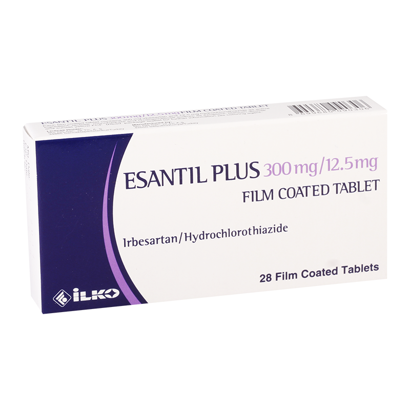 Esantil plus 300mg/12.5mg#28t