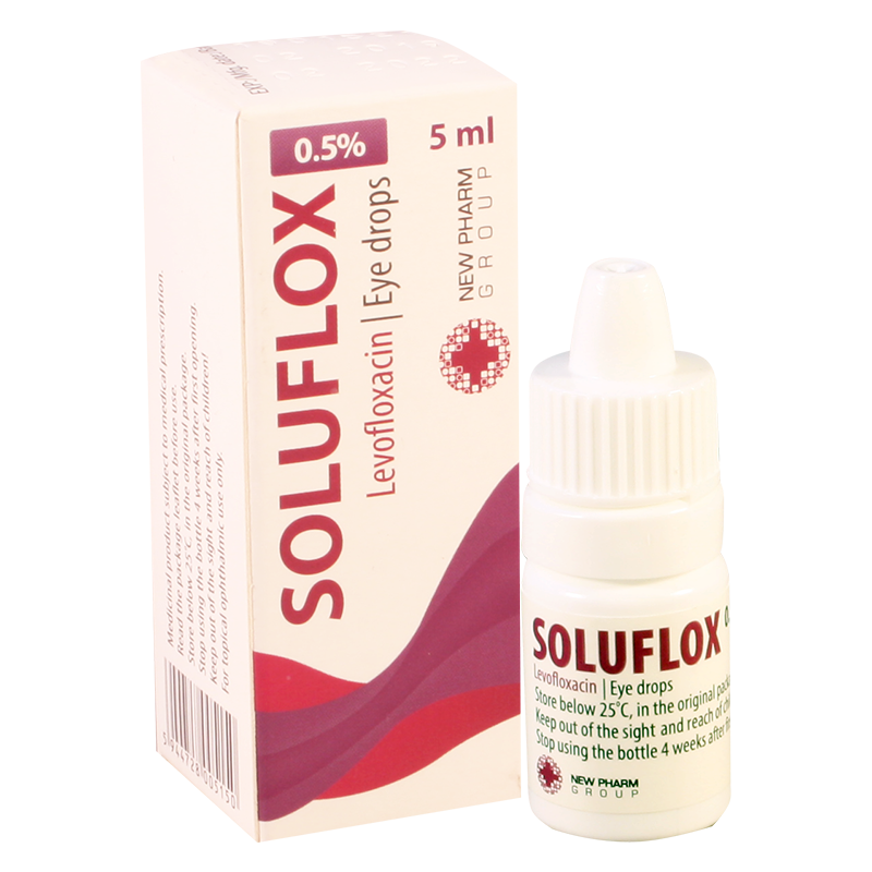 Soluflox 5mg/ml 5ml eye dr