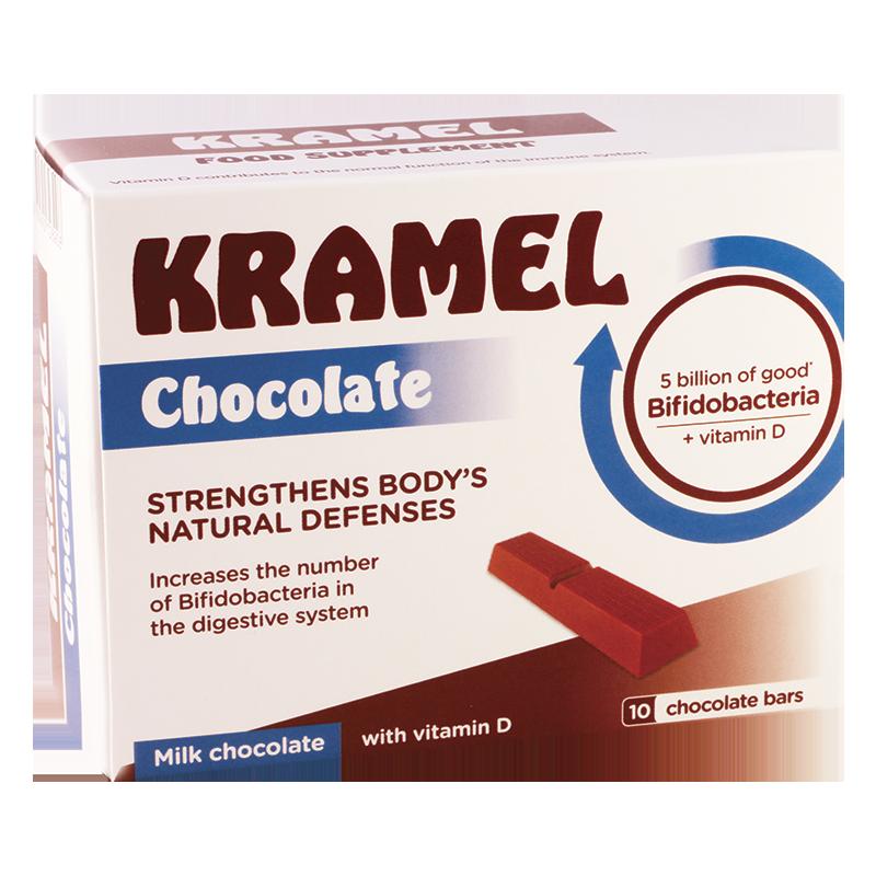 კრამელი #10 შოკოლადის ფილა
