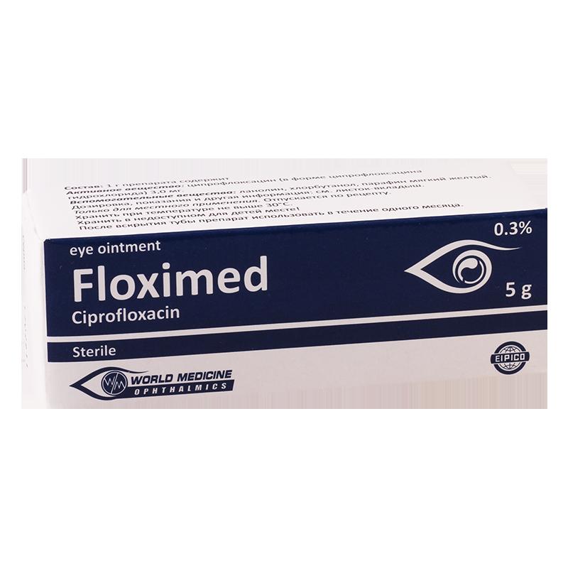 ფლოქსიმედი 0.3% 5გ თვ.მალამო