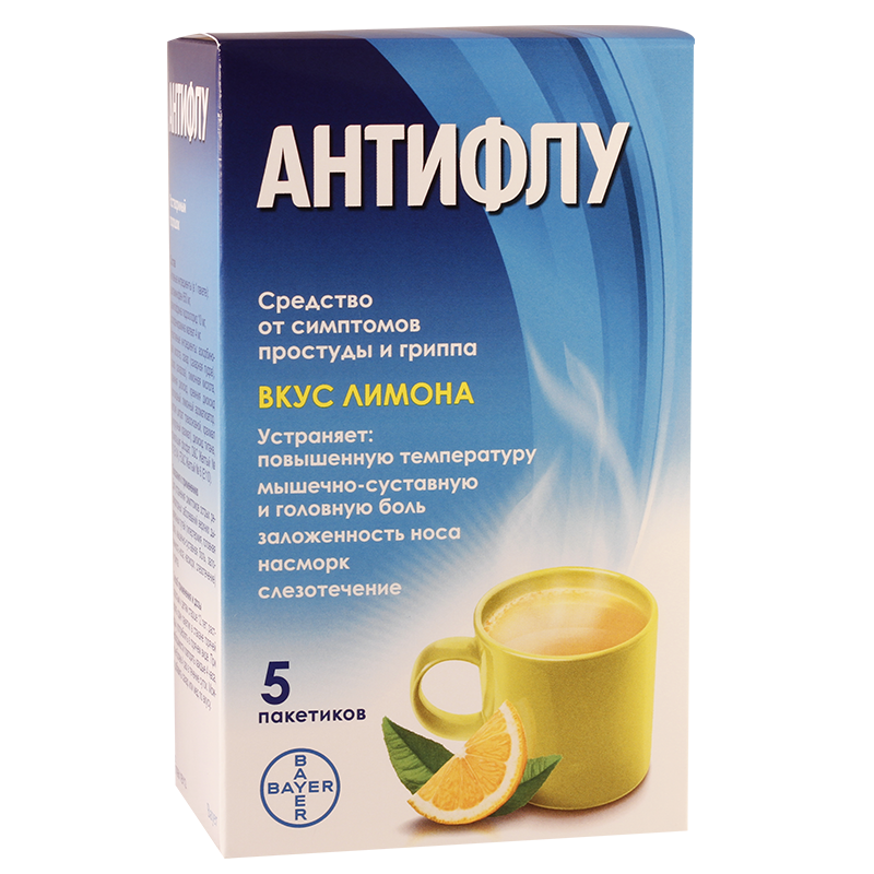 Antiflu w/limon #5pack