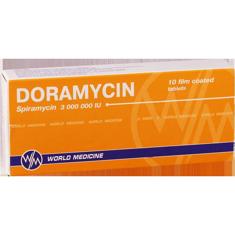 დორამიცინი 3მლნ #10ტ