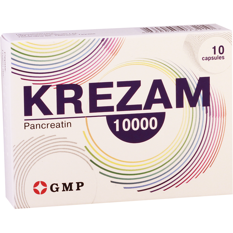 Krezam 10000 225mg#10caps GMP