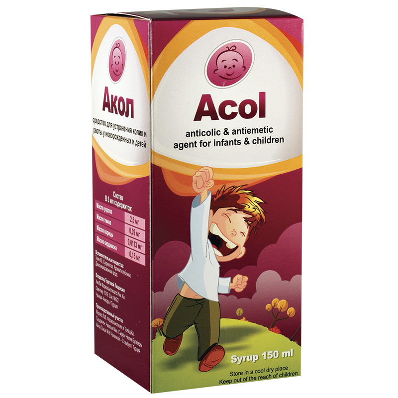 Acol 150ml syrup