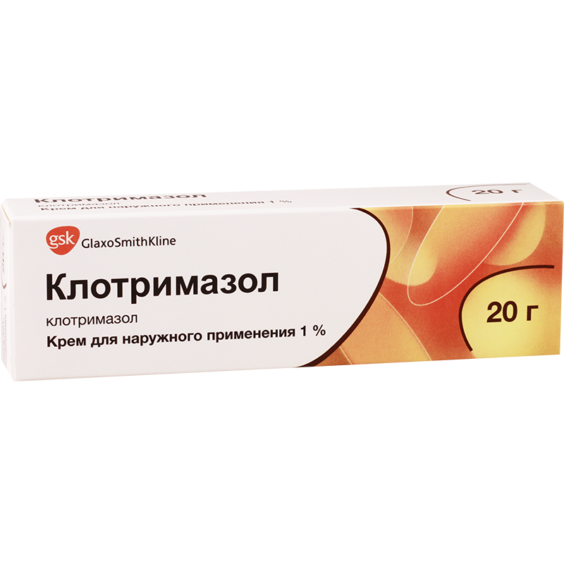 Clotrimazol 1% cream 20g GSK