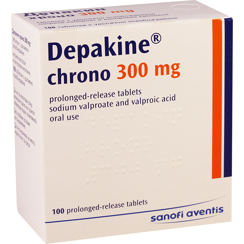 Depakine chrono 300mg #50t