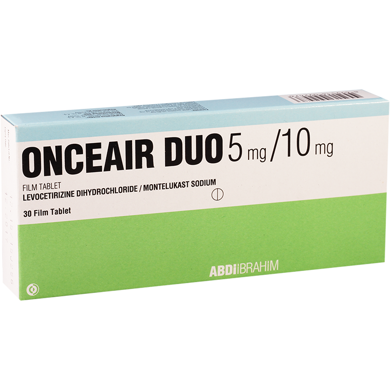 Onceair duo 5mg/10mg #30t