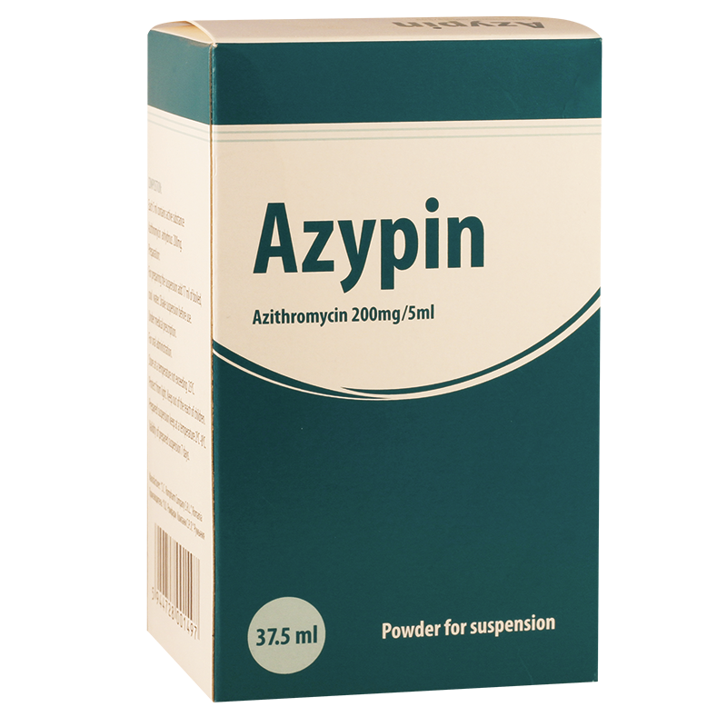 Azipin 200mg/5ml 37.5ml susp
