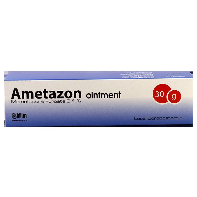 Аметазон 0.1% 30г мазь