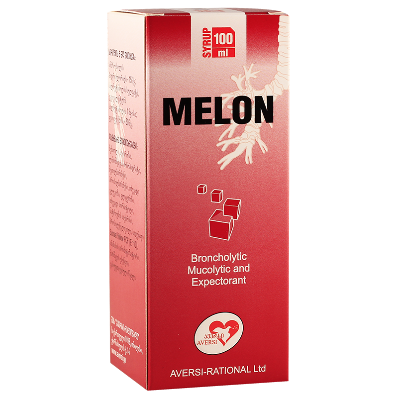 Melon 100ml syrup fl