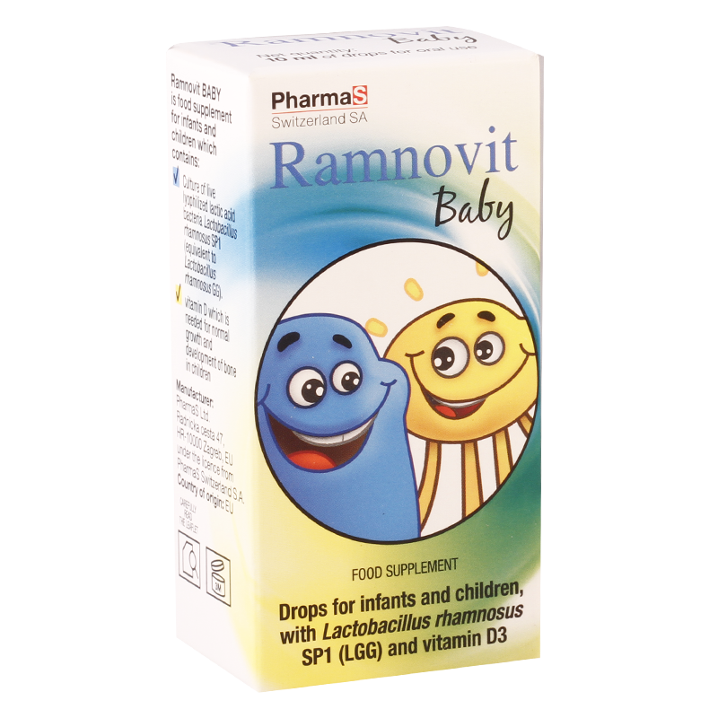 Ramnovit baby 10ml drops