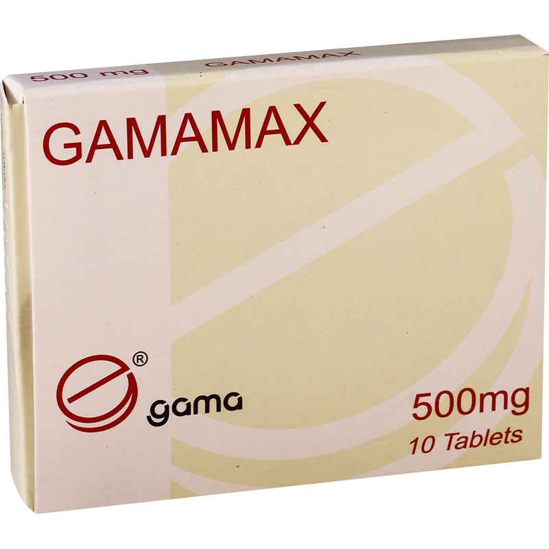 Gamamax 500mg #10t