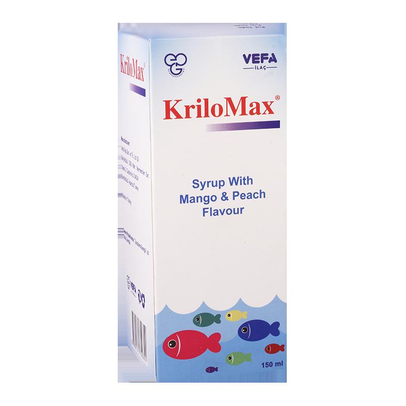 კრილომაქსი 150მლ სიროფი