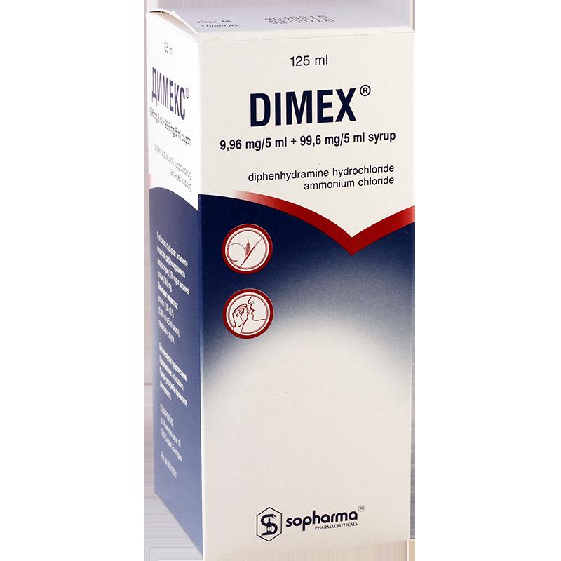 Dimex 125ml syrup (bulg)