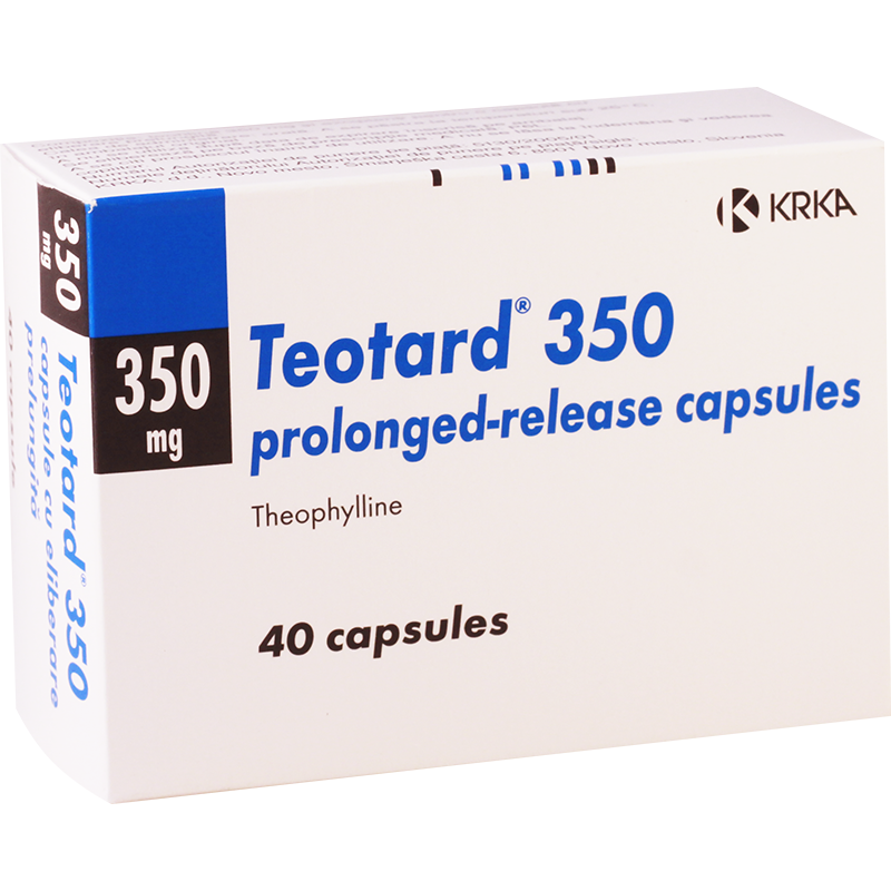 Theotard 350mg #40caps