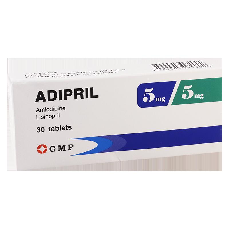 Adipril 5mg/5mg #30t GMP