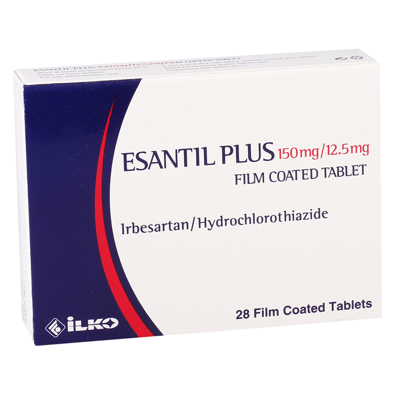 Esantil plus 150mg/12.5mg#28t