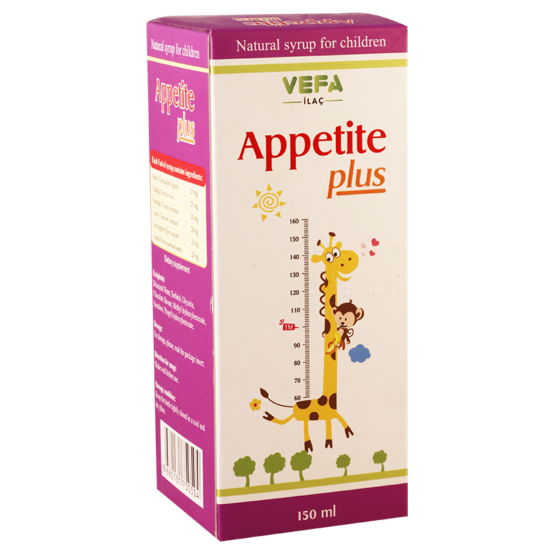 Apetit plus150ml syrup