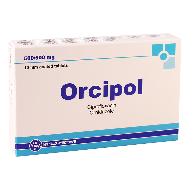 Orcipol 500mg/500mg #10t