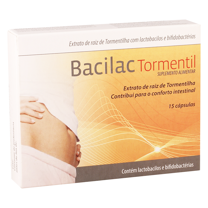 Bacila₧ tormetil #15caps