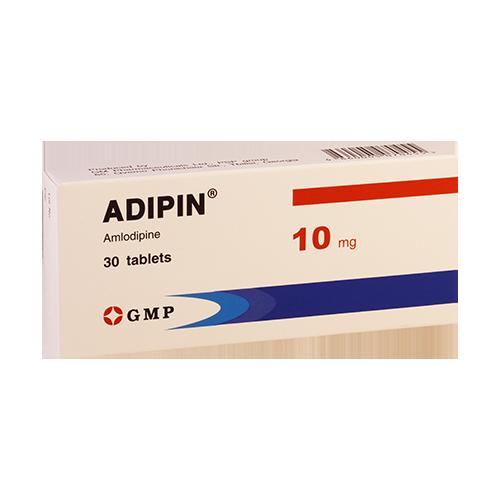 Адипин 10мг #30т GMP