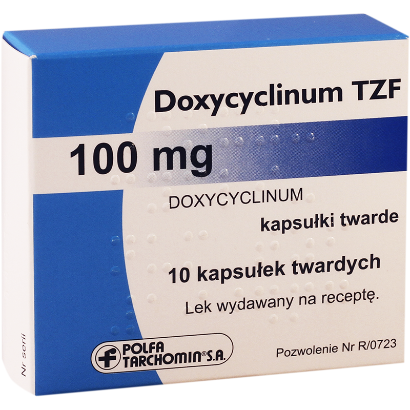 Doxycyclinum TZF 100mg#10caps