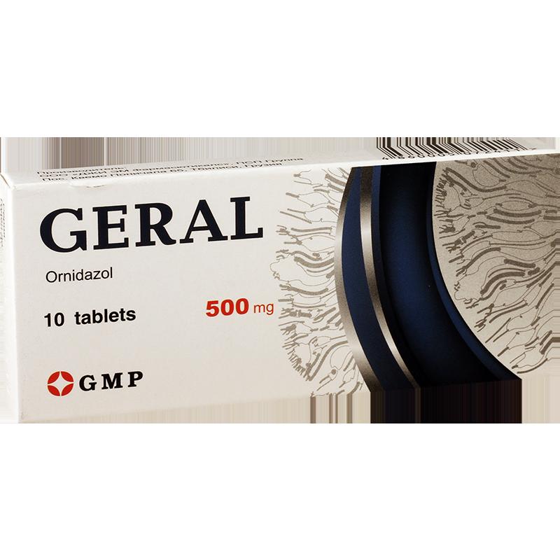 გერალი 500მგ #10ტ GMP