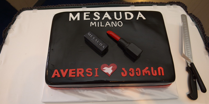"Presentation of the Italian cosmetic brand ""Mesauda Milano"""