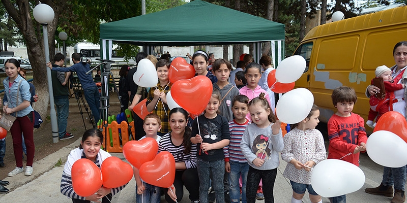 """Aversi"" celebrated the International Children's Day with an event held in Tskneti"